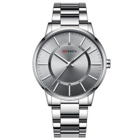 Curren 8385 Silver-Gray
